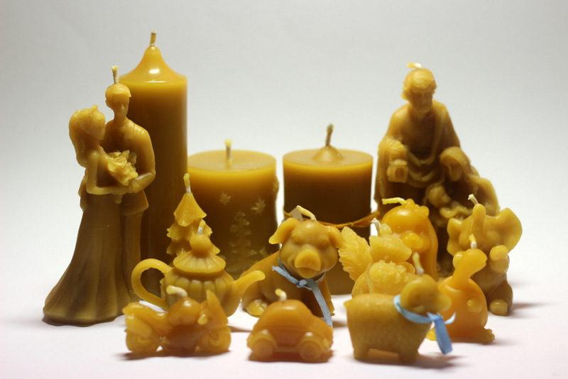 Svíčky ze včelího vosku - Martin Vodvářka