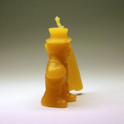 Kominík - svíčka ze včelího vosku