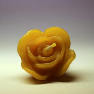 Květina - svíčka ze včelího vosku