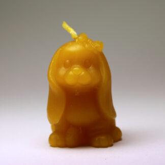 Pejsek - svíčka ze včelího vosku