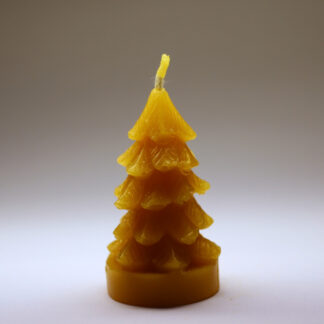Smrček - svíčka ze včelího vosku