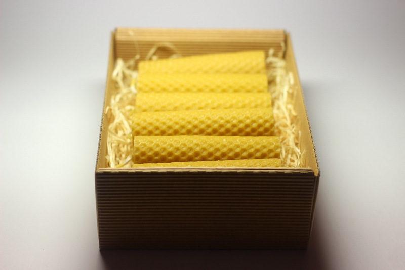 Balení svíček - krabička